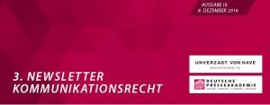 Newsletter_Kommunikationsrecht_Nr. 3